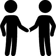 Menschen kommunizieren mit Menschen. Menschen bedienen CRM Systeme. Kundenorientierung beginnt im Kopf